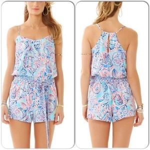 Lilly Shell Me About It Romper